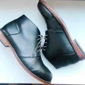 Nisolo Men's Black Leather Dress Shoes / Boots